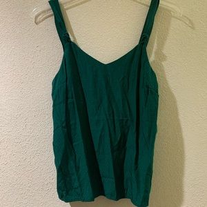 Emerald green tank top NWT from Old Navy